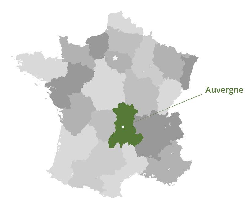 Frankrijk Auvergne